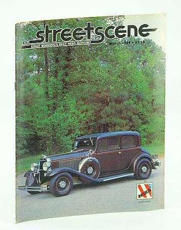 Streetscene (Street Scene) Magazine, March (Mar.) 1984 - Cover Photo of Gene and Donna Dickson's 1932 Dodge, Multiple Contributors