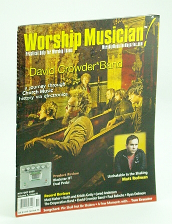 Worship Musician Magazine - Practical Help for Worship Teams, November / December (Nov. / Dec.) 2009: David Croder Band Cover Photo, Doppler, Doug; Albrecht, Carl; et al