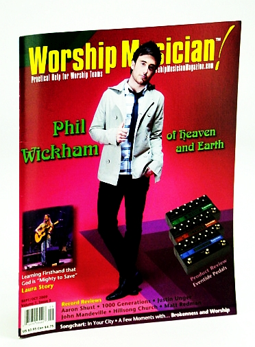 Image for Worship Musician - Practical Help for Worship Teams, September / October (Sept. / Oct.) 2009 - Phil Wickham Cover Photo