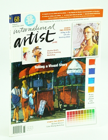 Image for International Artist Magazine - The Magazine for Artists By Artists From Around the World, August / September (Aug. / Sept.) 2009, #68 - Telling a Visual Story