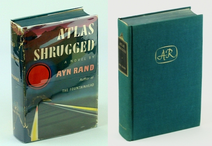 Atlas Shrugged - First Printing, Rand, Ayn