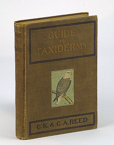 Guide to taxidermy,, Reed, Charles K
