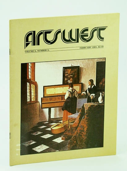 Image for Arts West Magazine, Volume 6, Number 2, February (Feb.) 1981 -  Printmakers Roy and Olga Tomlinson