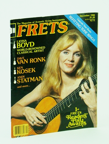 Image for Frets - The Magazine of Acoustic String Instruments, December (Dec.) 1980 - Liona Boyd