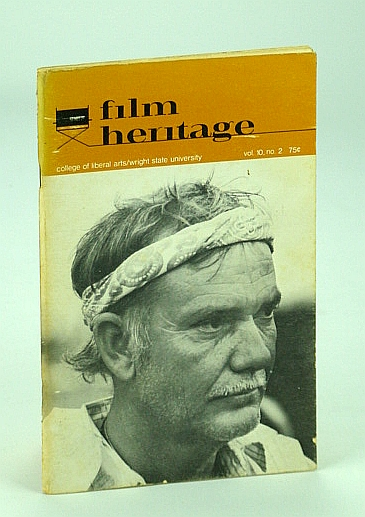 Image for Film Heritage Magazine, Winger 1974 - 1975: Sam Peckinpah Cover Photo