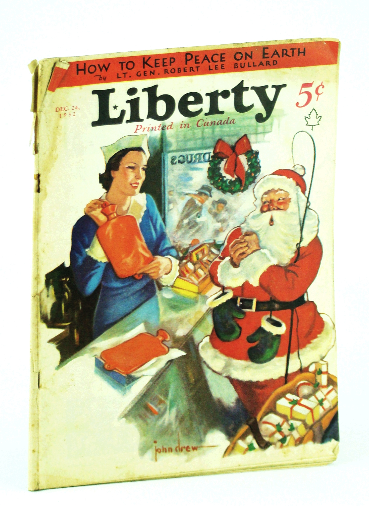 Image for Liberty Magazine - America's Best Read Weekly, December [Dec.] 24, 1932, Vol. 9, No. 52: Germany's Official Reply to Sergeant Halyburton of Company F, Sixteenth Infantry, USA