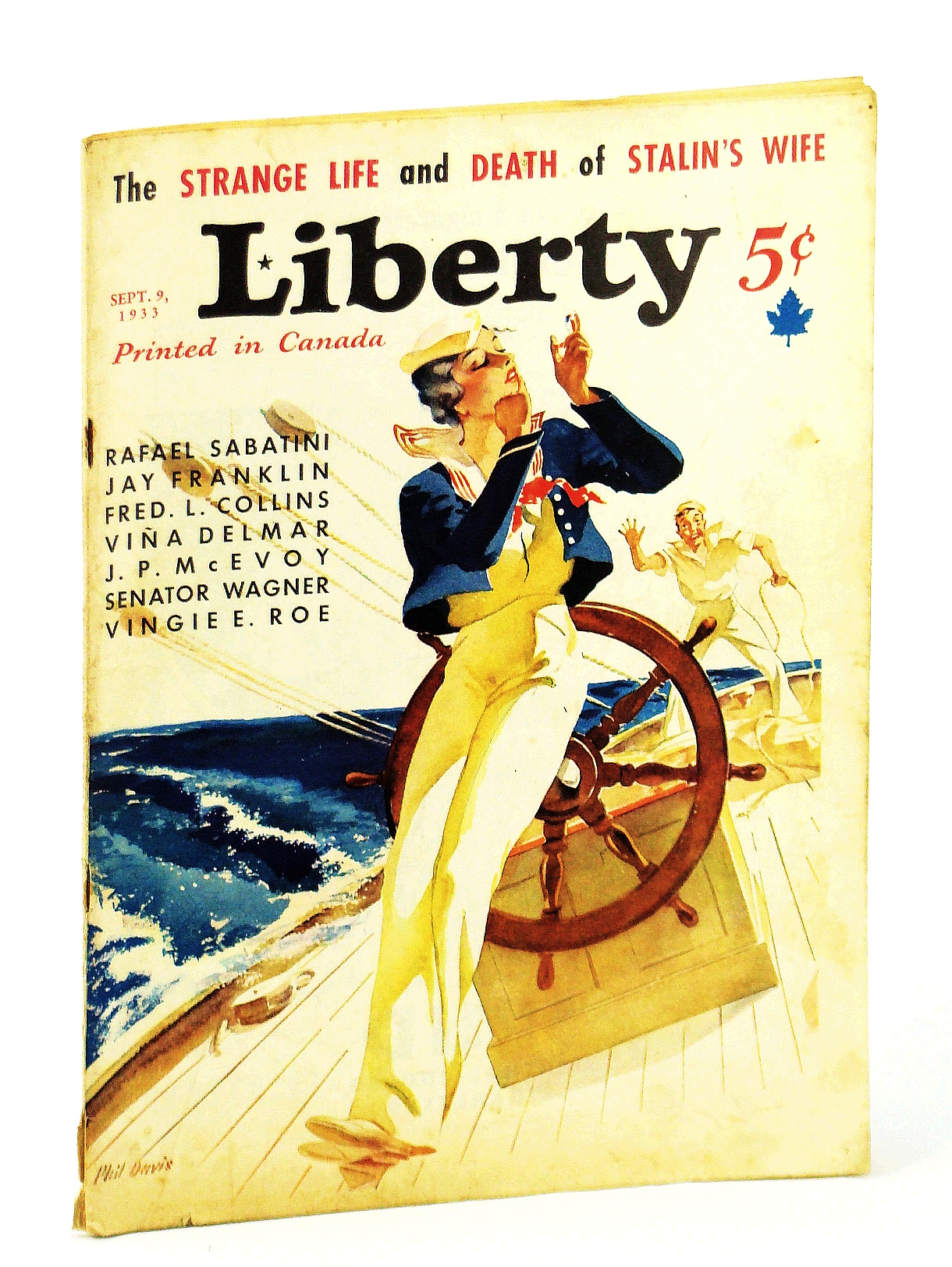 Image for Liberty Magazine, September (Sept.) 9, 1933, Vol. 10, No. 36: The Strange Life and Death of Stalin's Wife