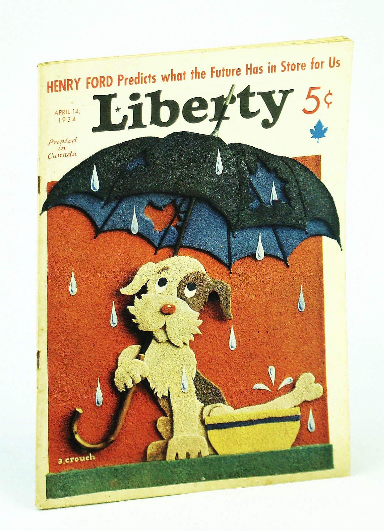 Image for Liberty Magazine, 14 April [Apr.] 1934, Vol. 11, No. 15 -  Henry Ford Predicts What the Future Has in Store For Us