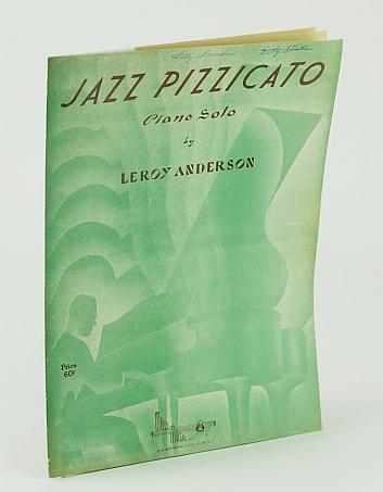 Jazz Pizzicato piano solo sheet music, Leroy Anderson
