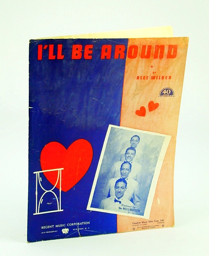 Image for I?LL BE AROUND A. WILDER 1942 SHEET MUSIC SHEET MUSIC 393