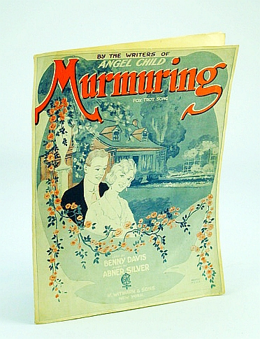 Image for Murmuring - Fox Trot Song: Sheet Music for Piano and Voice