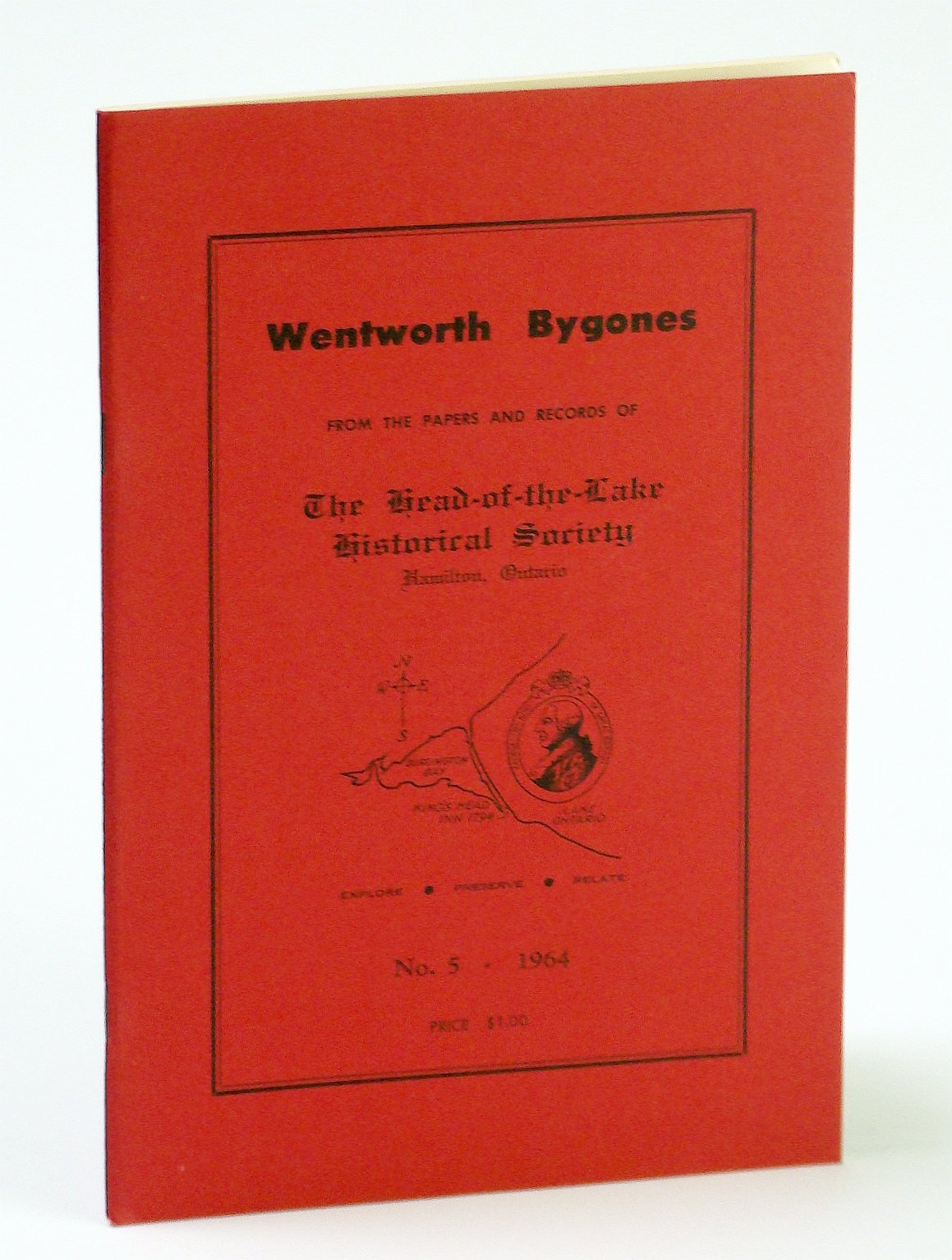 Image for Wentworth Bygones: From the Papers and Records of The Head-of-the-Lake Historical Society, No. 5 (Five) 1964