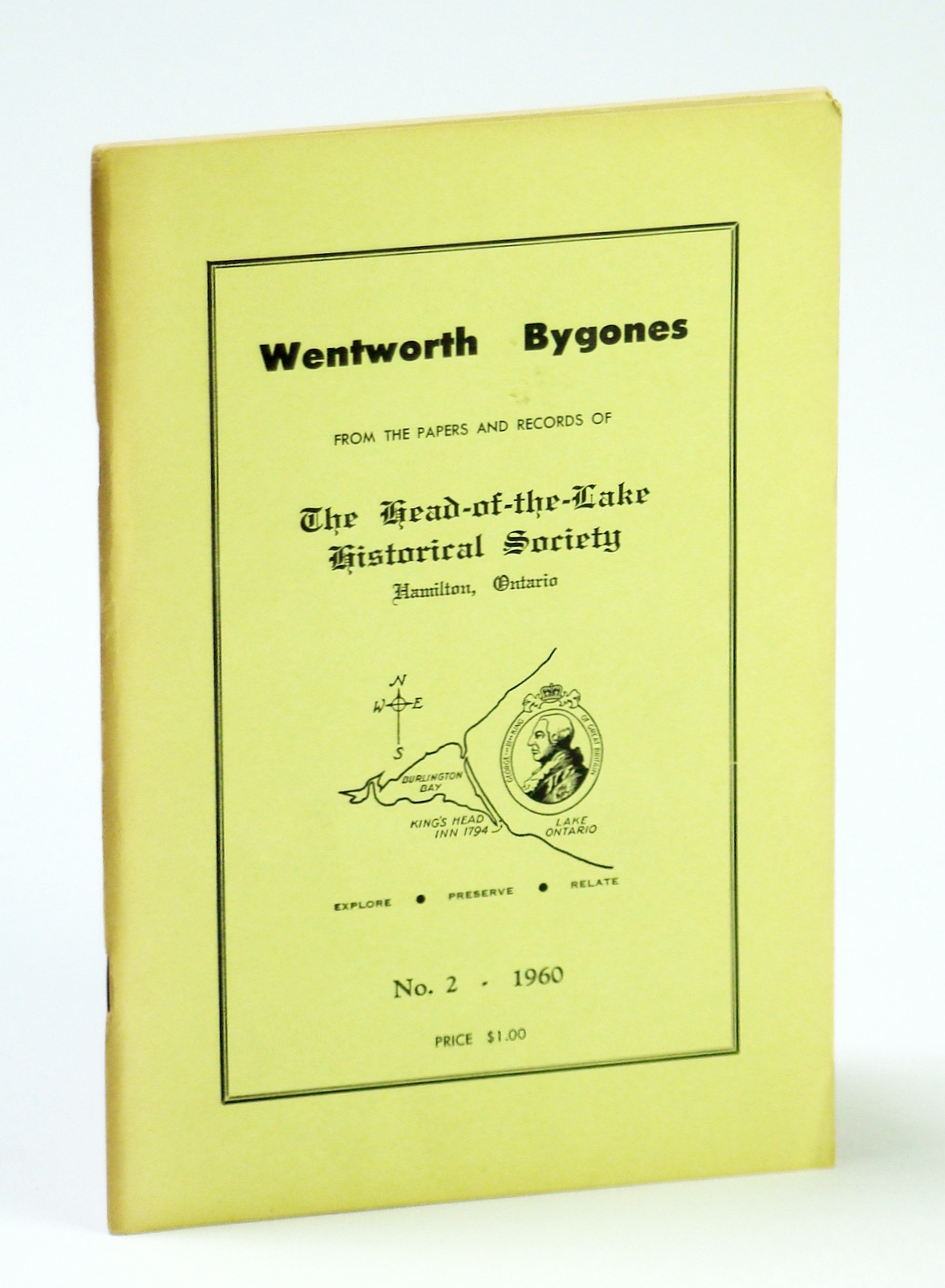 Image for Wentworth Bygones: From the Papers and Records of The Head-of-the-Lake Historical Society, No. 2 (Two) 1960