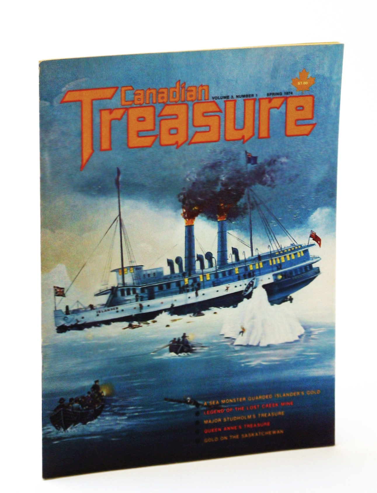 Image for Canadian Treasure Magazine - True Stories on Lost, Sunken and Buried Treasure - Volume 2, Number 1 (Collector's No. 4)