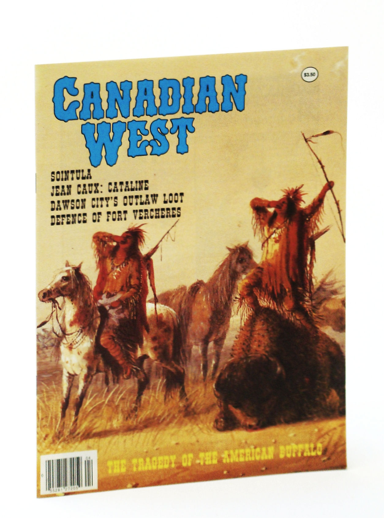Image for Canadian West Magazine - Winter 1990, Vol. 6, No. 4 (Collector's #22)