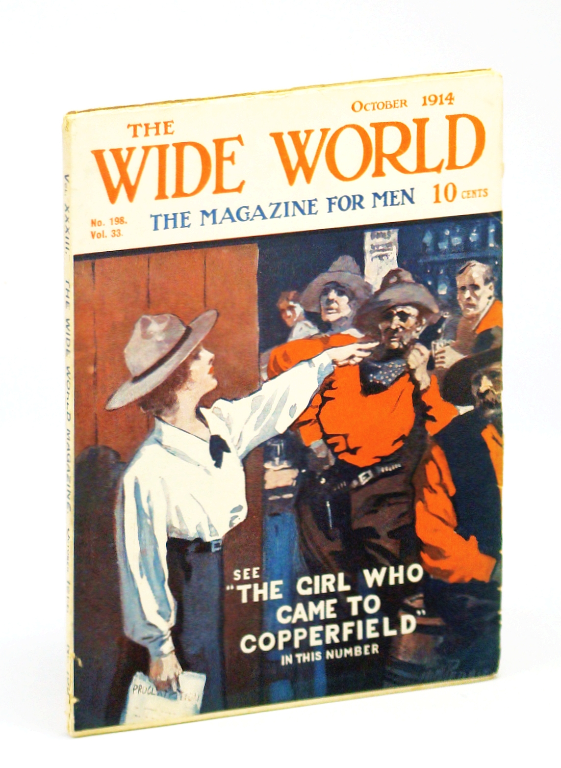 Image for The Wide World  - The Magazine For Men, October (Oct.) 1914, No. 198, Vol. 33 - My Escape from Kelantan / Across Canada By Motor-Car