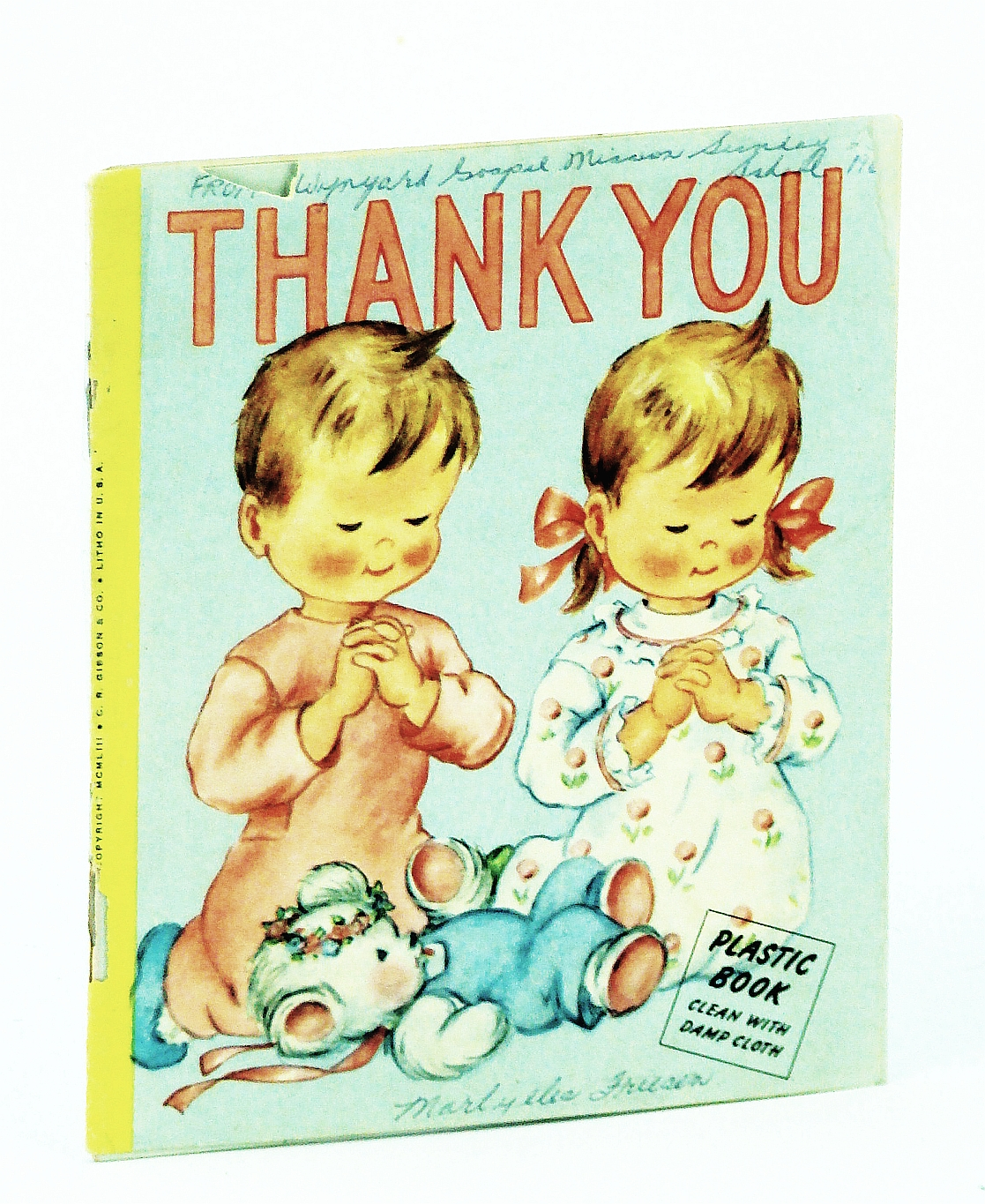 Image for Thank You (Plastic Book) A Little Book for Little People