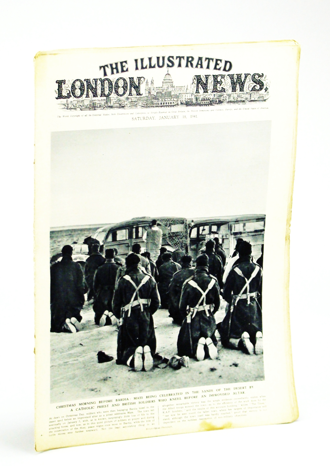 Image for The Illustrated London News, Saturday, January [Jan.] 18,1941 - Passing of Lord Baden-Powlell, Founder and Chief Scout of the World-Wide Boy Scout Movement