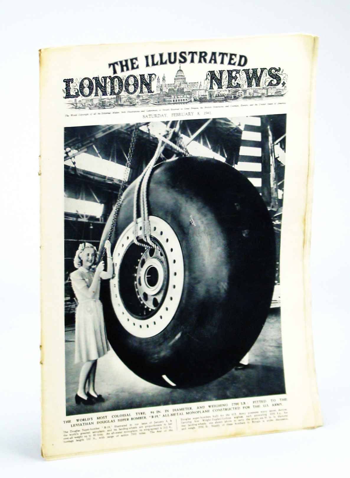 Image for The Illustrated London News, Saturday, February [Feb.] 8, 1941 - Ultra High-Speed X-Ray Photo Samples