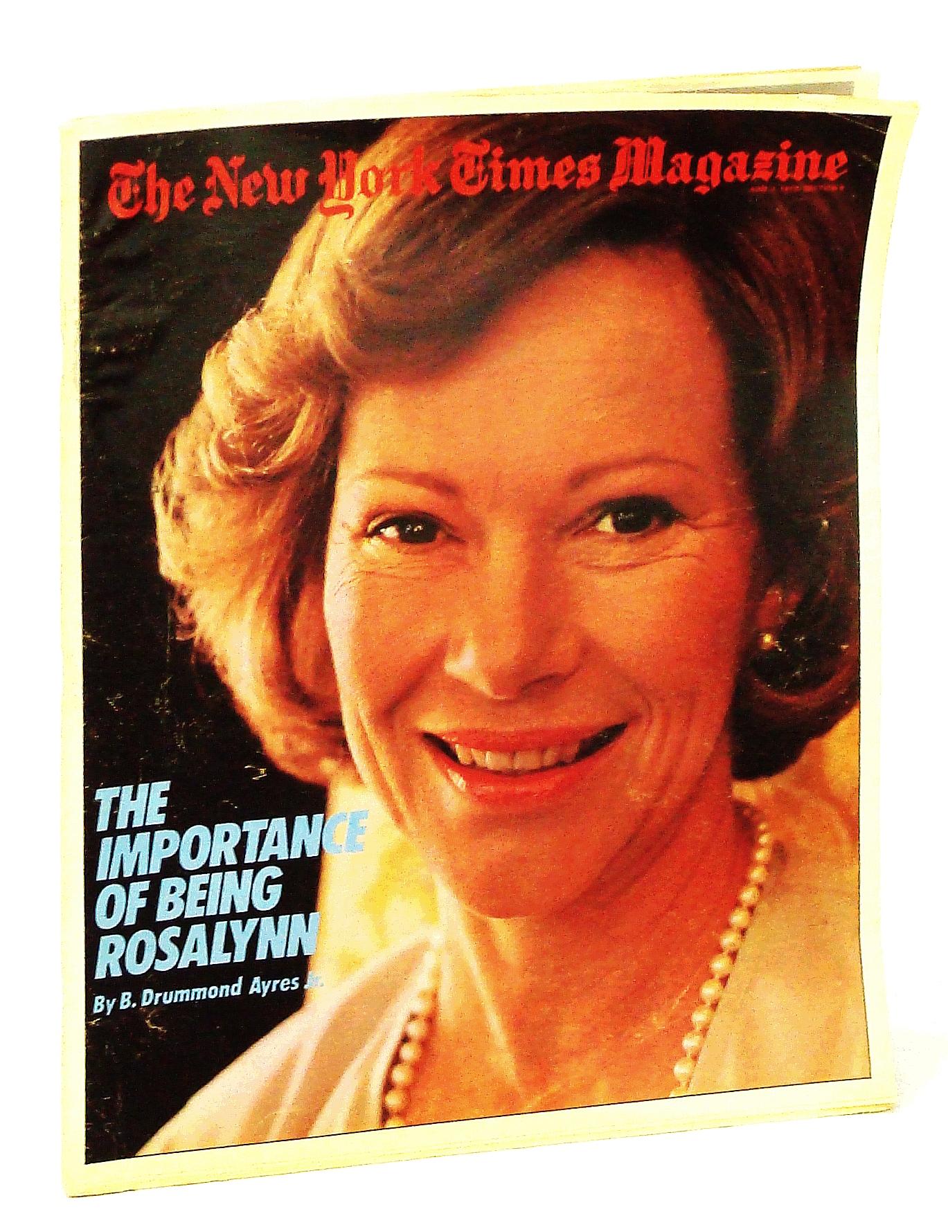 Image for The New York Times Magazine, June 3, 1979: Rosalynn Carter Cover Photo