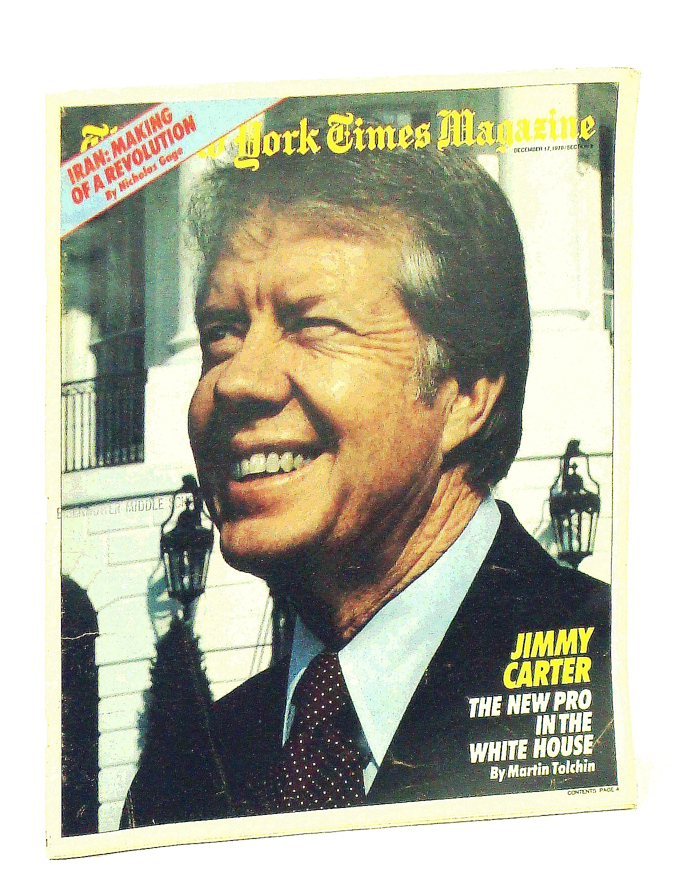 Image for The New York Times Magazine, December [Dec.] 17, 1978: Jimmy Carter Cover Photo