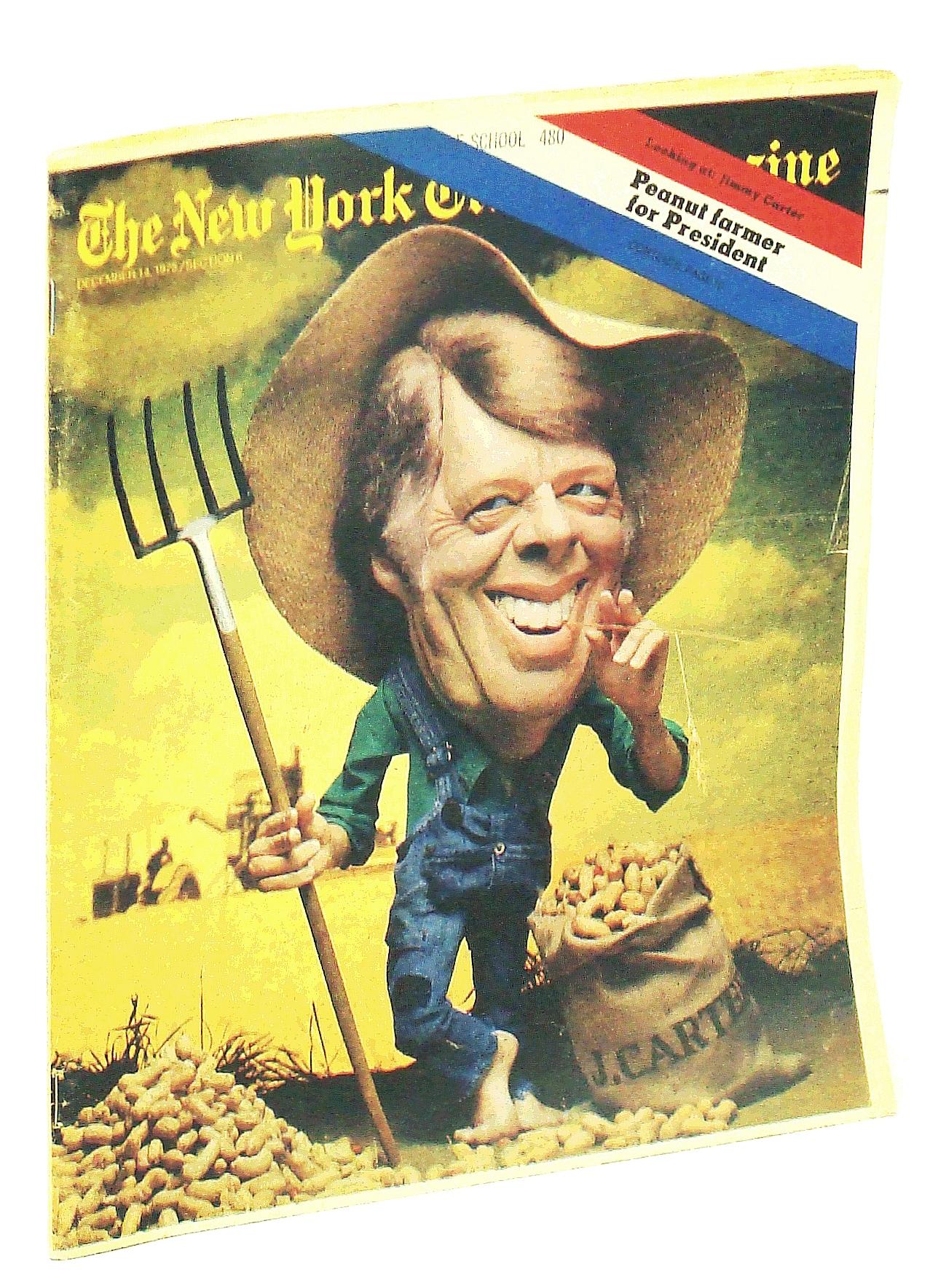 Image for The New York Times Magazine, December [Dec.] 14, 1975: Peanut Farmer for President - Jimmy Carter / O.J. Simpson of the Buffalo Bills