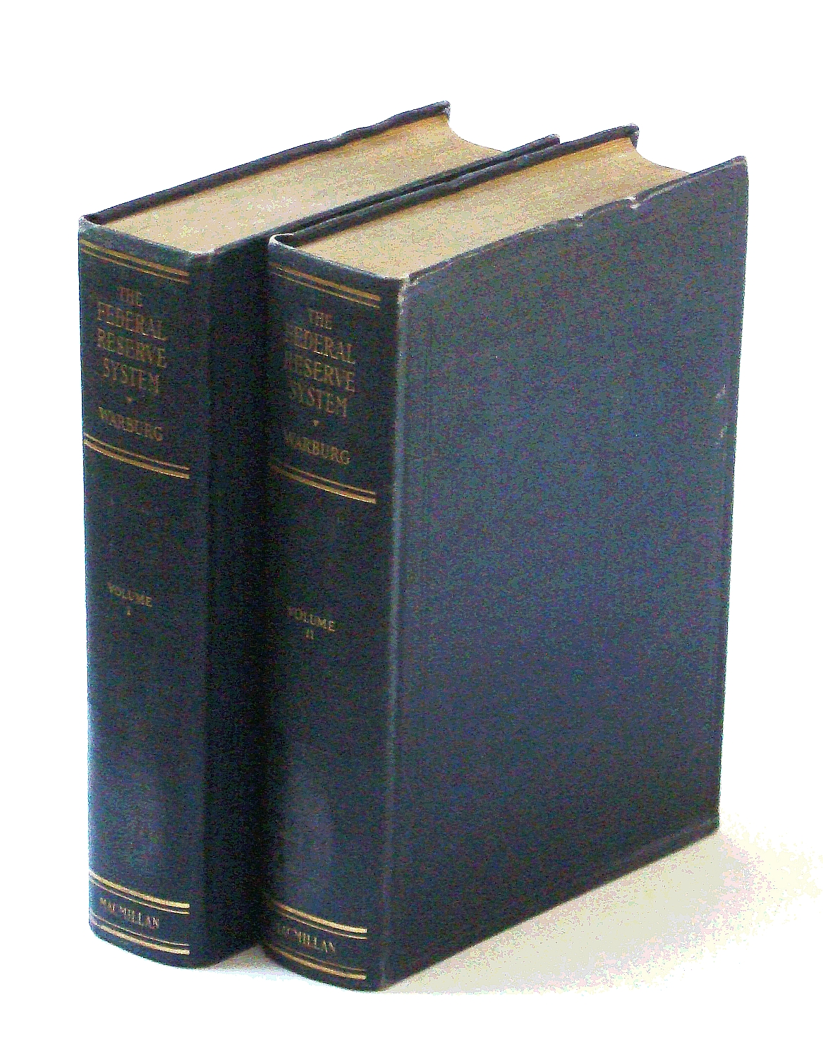 Federal Reserve System, Its Origin and Growth. Reflections and Recollections (2 volumes)