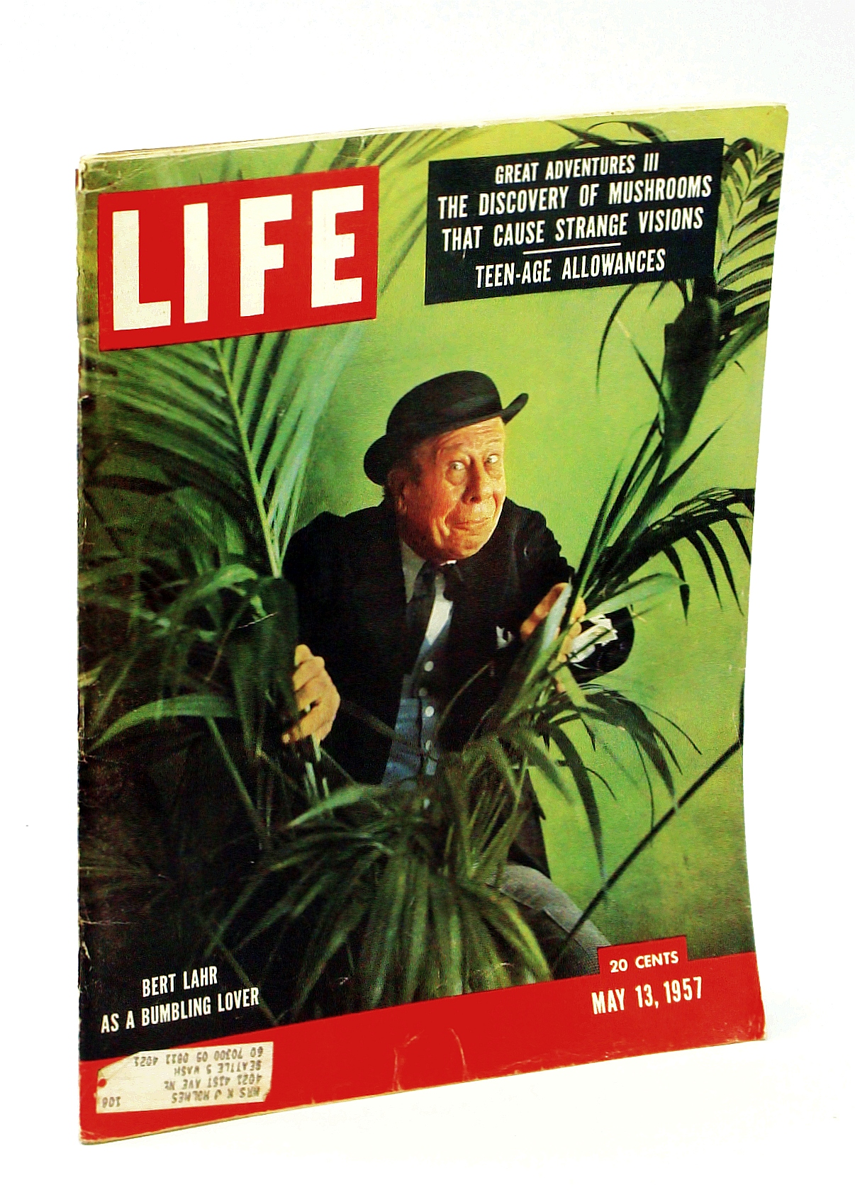 Life Magazine May 13 1957 - Seeking the Magic Mushroom