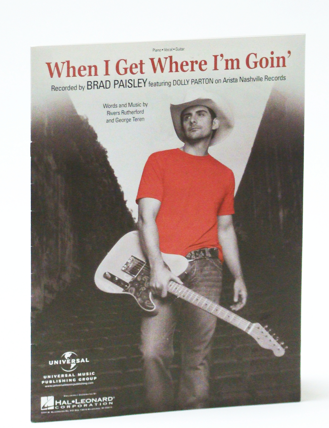 Image for When I Get Where I'm Goin': Sheet Music for Piano and Voice with Guitar Chords