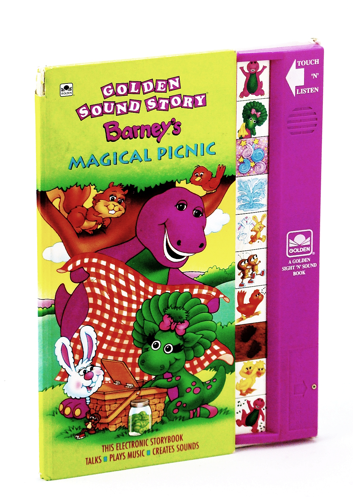 Image for Barney's Magical Picnic (Golden Sight 'n' Sound Book)