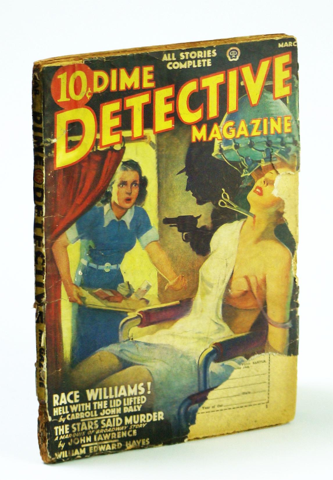 Image for Dime Detective Magazine, March (Mar.) 1939, Vol 29, No. 4