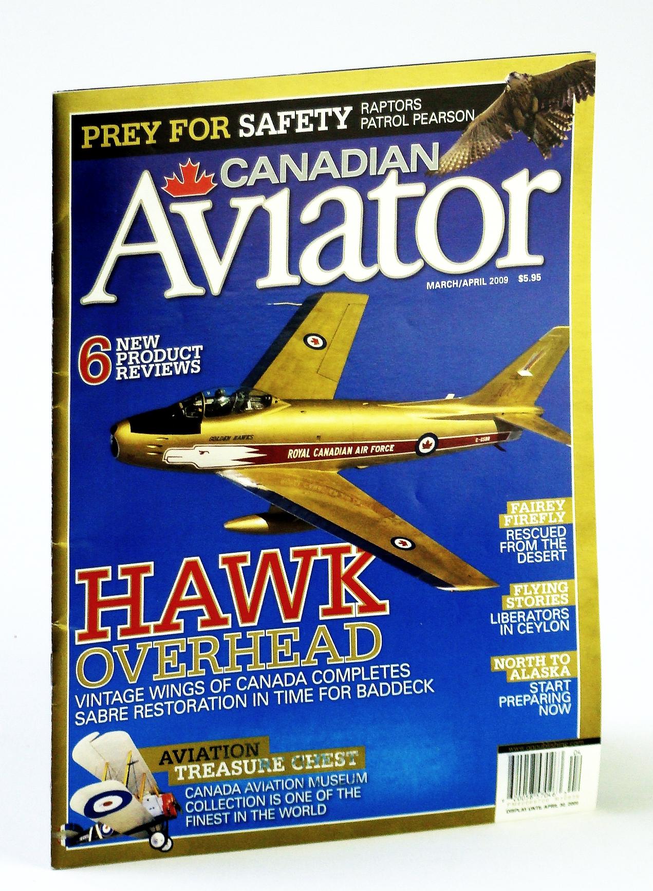 Image for Canadian Aviator Magazine, March / April 2009 - Sabre Restoration