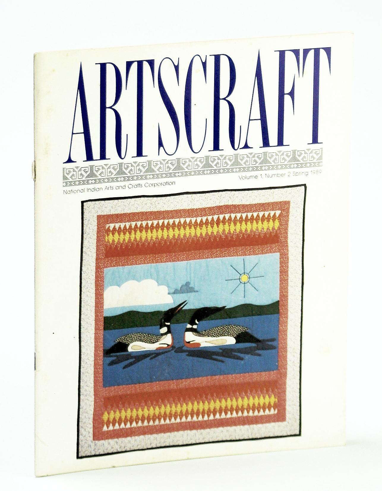 Image for Artscraft Magazine, Volume 1, Number 2, Spring 1989 - Dell Warner