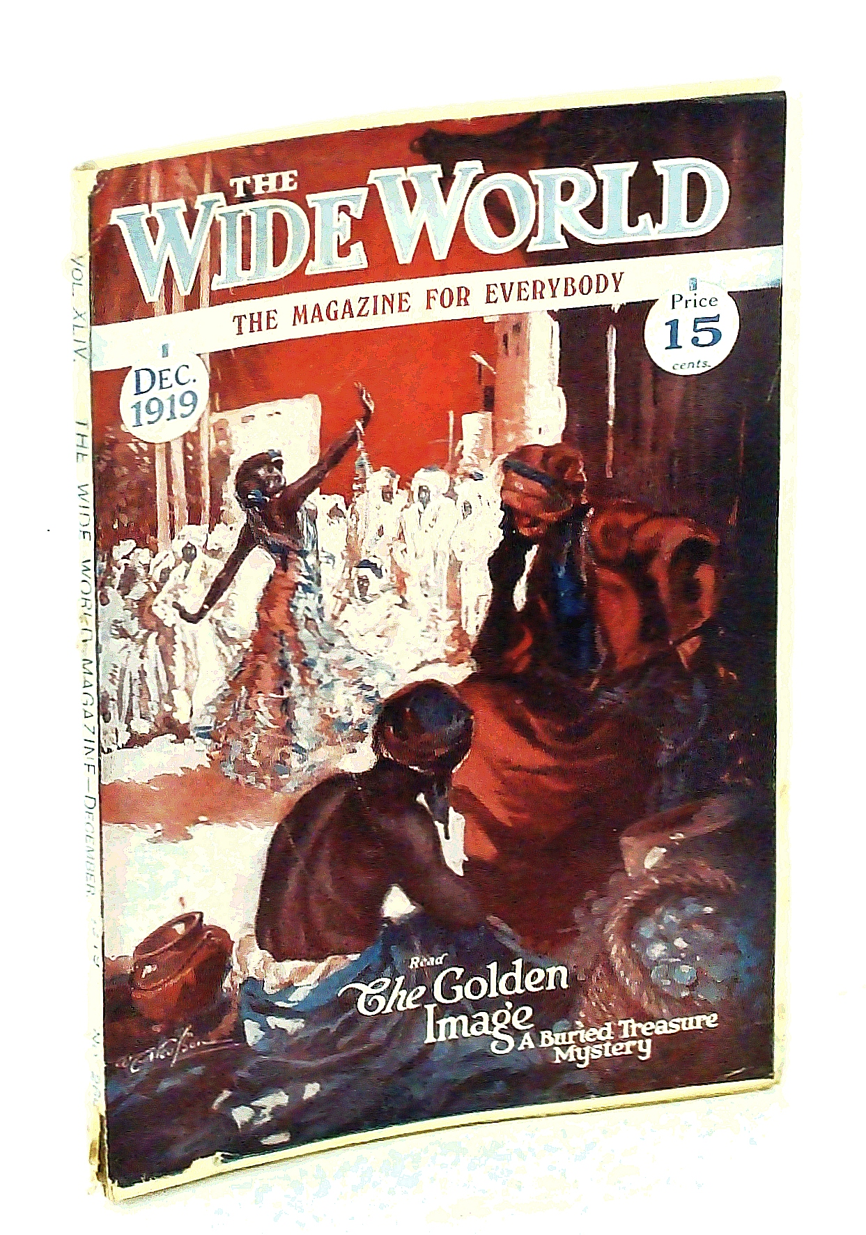Image for The Wide World Magazine, The Magazine for Everybody, Vol. XLIV, No. 260, December (Dec.) 1919 -  The End of Billy the Kid