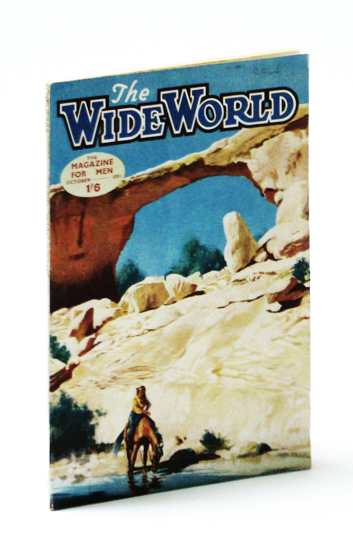 Image for The Wide World, The Magazine For Men, October (Oct) 1951 - The Hunting of Harry Tracy in Washington State in 1902