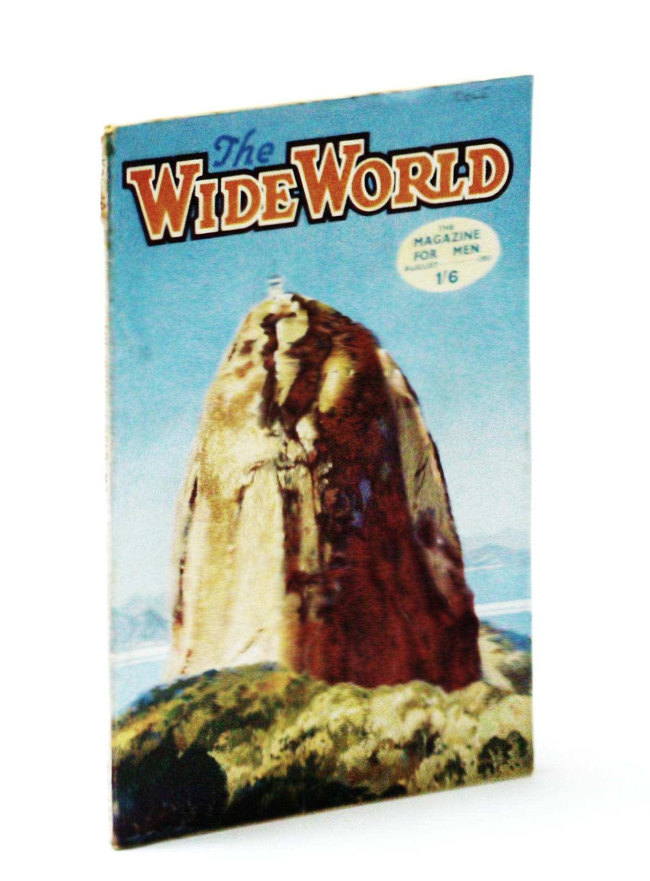 Image for The Wide World, The Magazine For Men, August  (Aug) 1951 -  R.C.M.P. (RCMP) Airmen