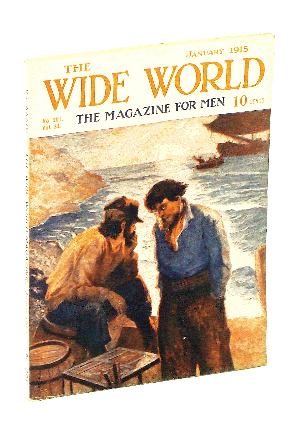 Image for The Wide World - The Magazine For Men, January [Jan.] 1915, Vol. 34, No. 201: Experiences in Keewatin