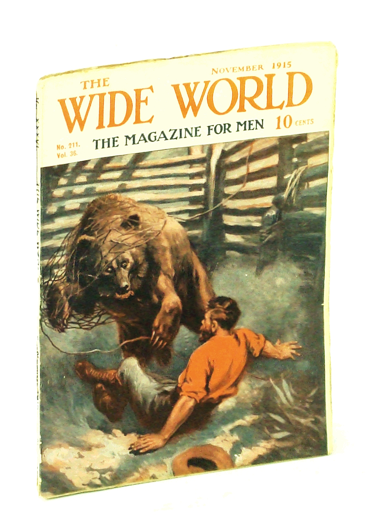 Image for The Wide World, The Magazine for Men, November [Nov.] 1915, Vol. 36, No. 211 -  Journey Down the Amazon From Its Source
