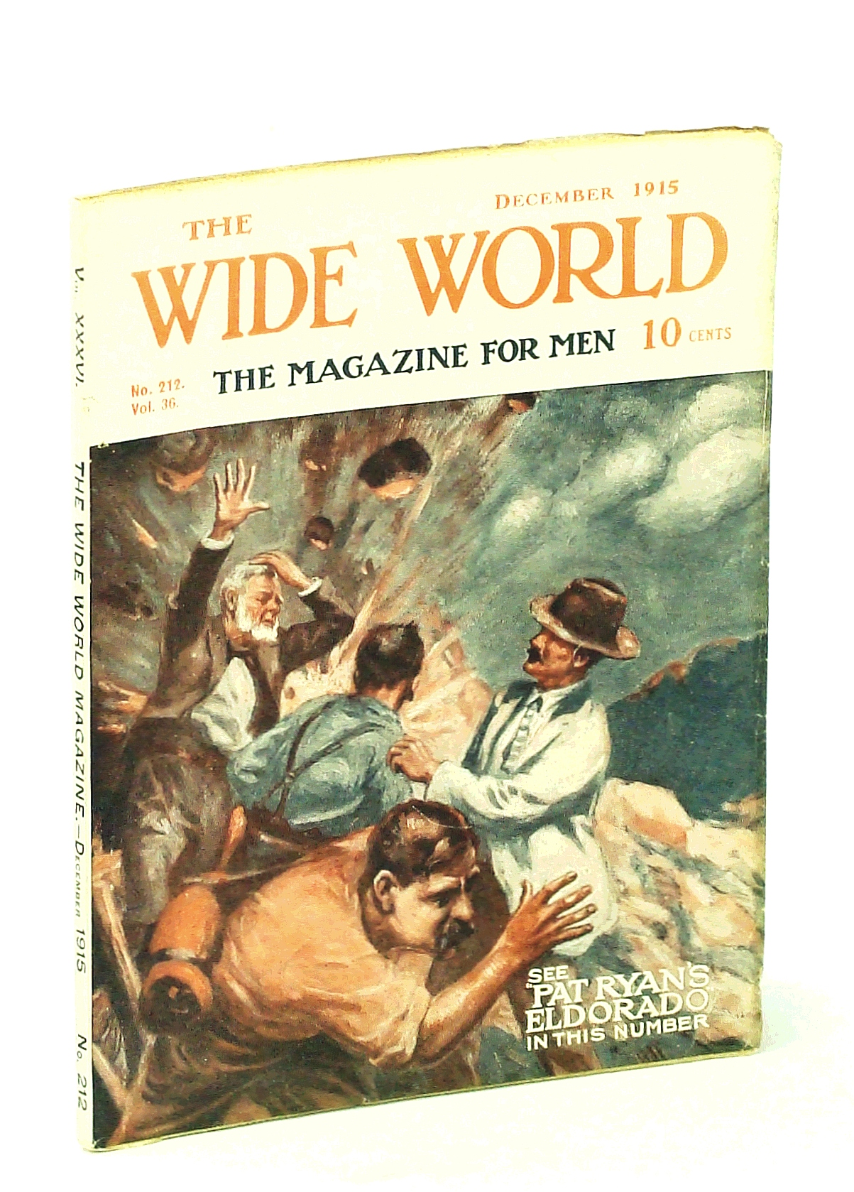 Image for The Wide World, The Magazine for Men, December [Dec.] 1915, Vol. 36, No. 212 - Down the Amazon From Source To Mouth