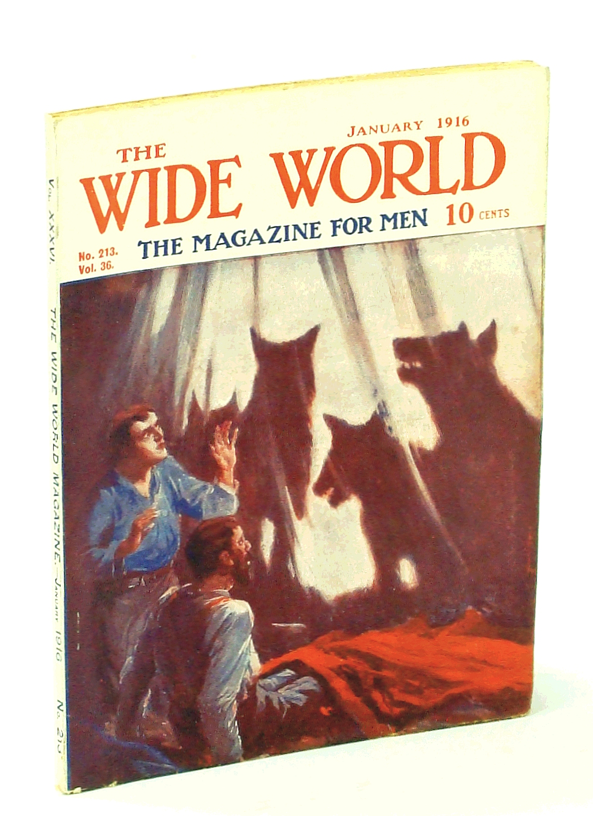 Image for The Wide World, The Magazine for Men, January [Jan.] 1916, Vol. 36, No. 213: Down the Amazon / Housekeeping in Far Japan