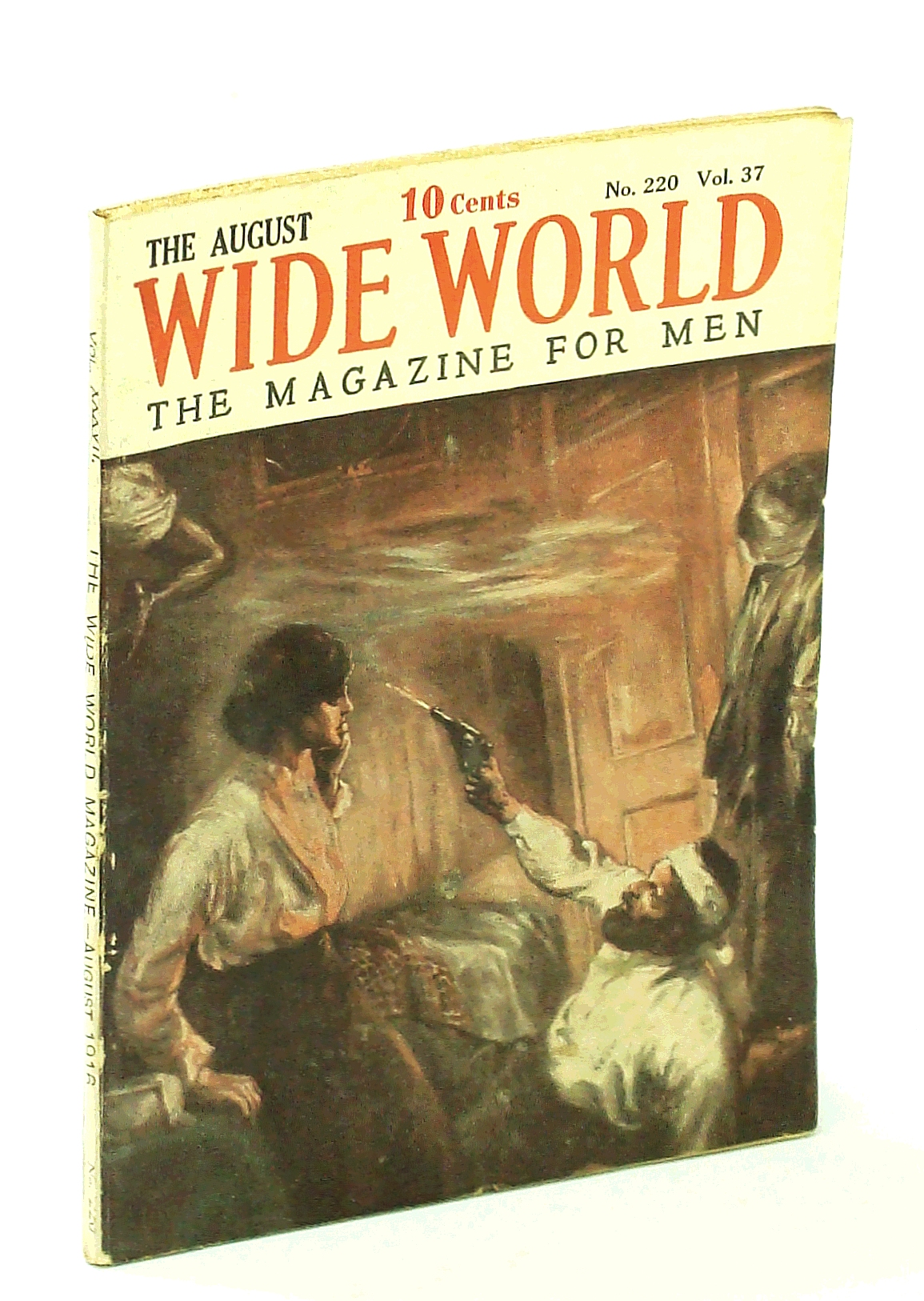 Image for The Wide World, The Magazine for Men, August [Aug.] 1916, Vol. 37, No. 220: Tragic Story of the Stefansson Arctic Exploration Expedition