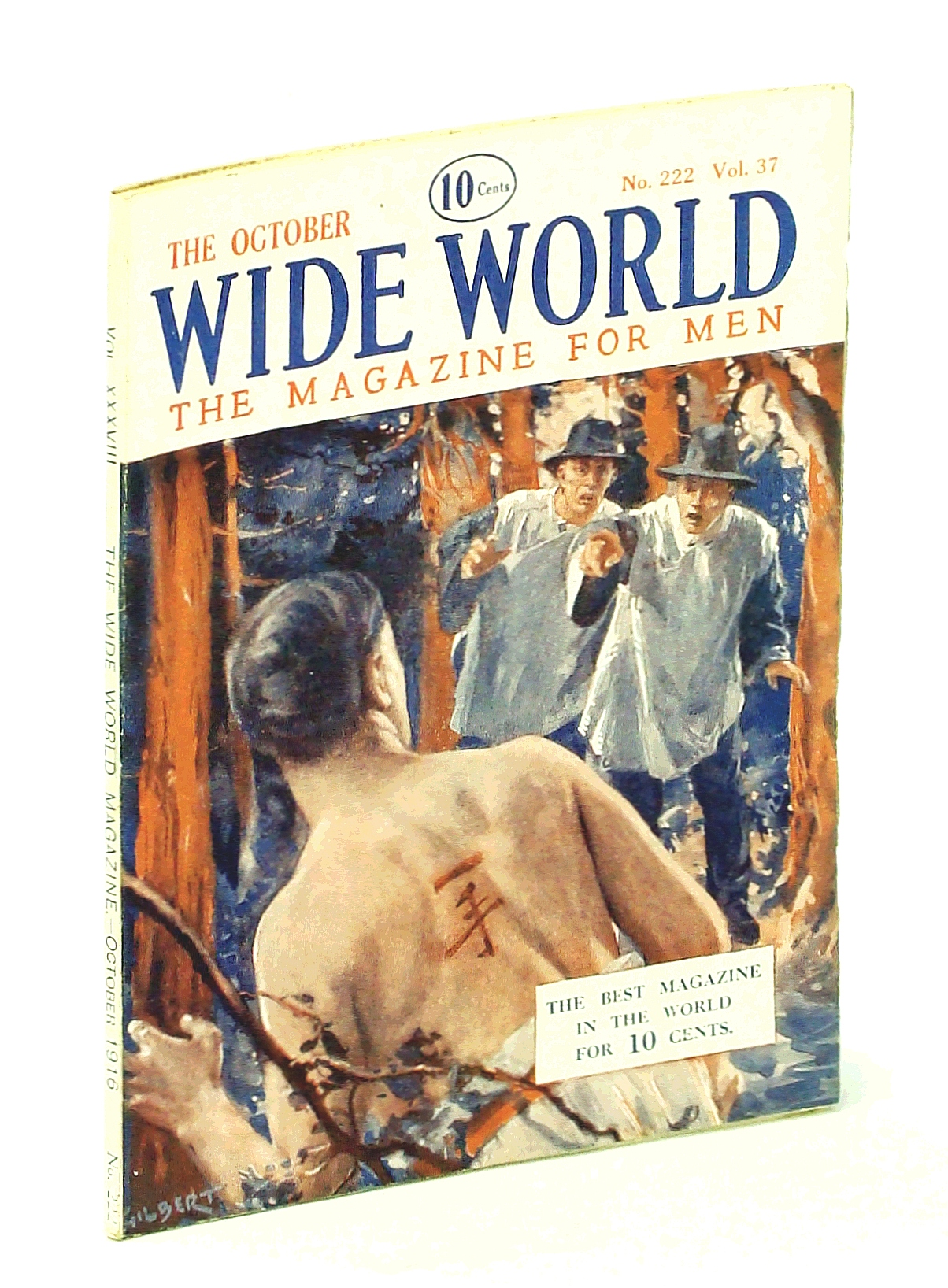 "Image for The Wide World, The Magazine for Men, October [Oct.] 1916, Vol. 37, No. 222: How We Foiled ""U 39"""