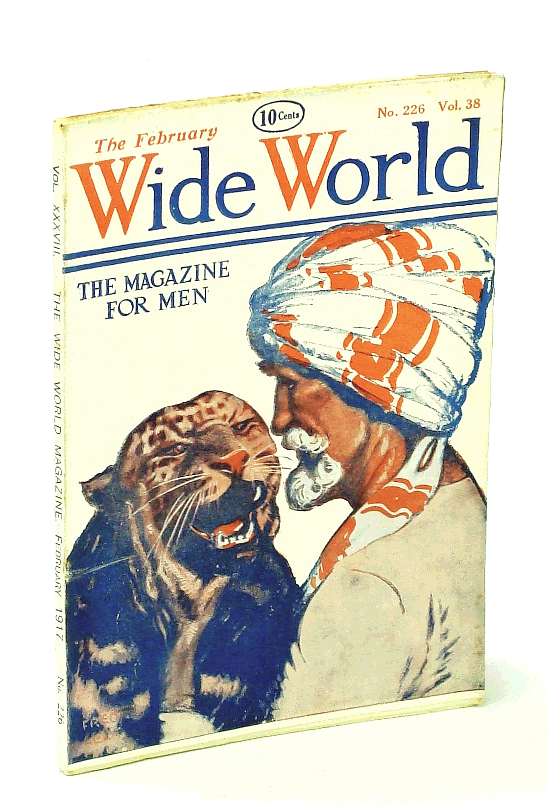 Image for The Wide World, The Magazine for Men, February [Feb.] 1917, Vol. 38, No. 226: Ivory Poaching in German East Africa