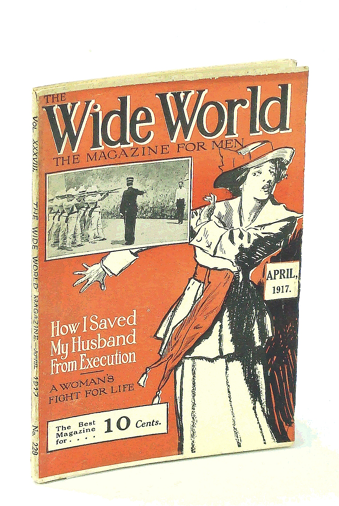 Image for The Wide World, The Magazine for Men, April [Apr.] 1917, Vol. 38, No. 228: Across the Atlantic in a Tug