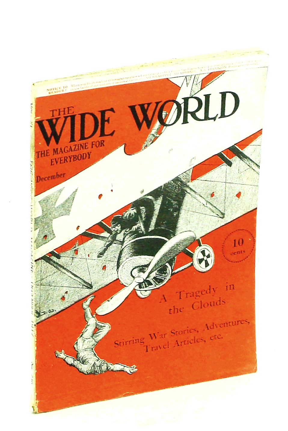 Image for The Wide World, The Magazine for Men, December [Dec.} 1917, Vol. 40, No. 236: Capturing Wild Animals Alive