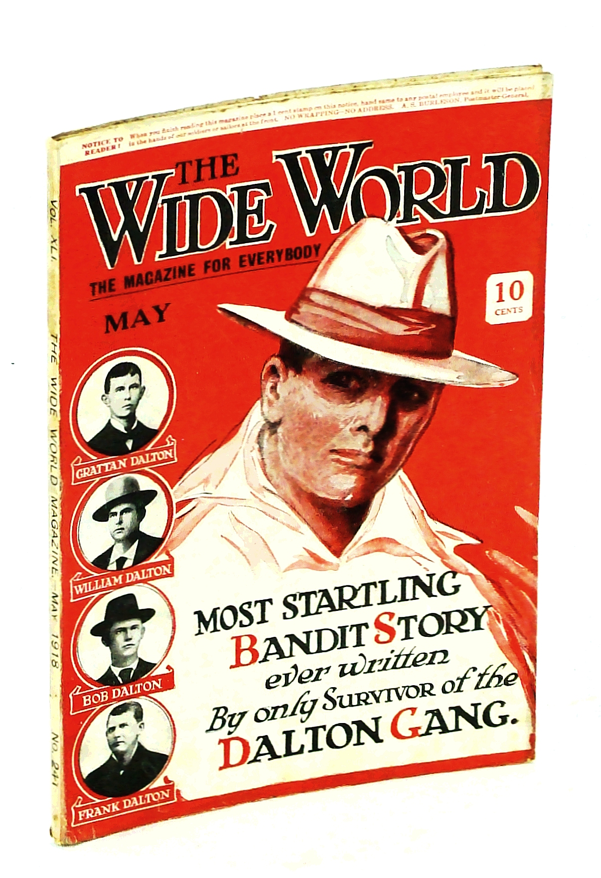 Image for The Wide World, The Magazine for Men, May 1918, Vol. 41, No. 241: The Dalton Gang