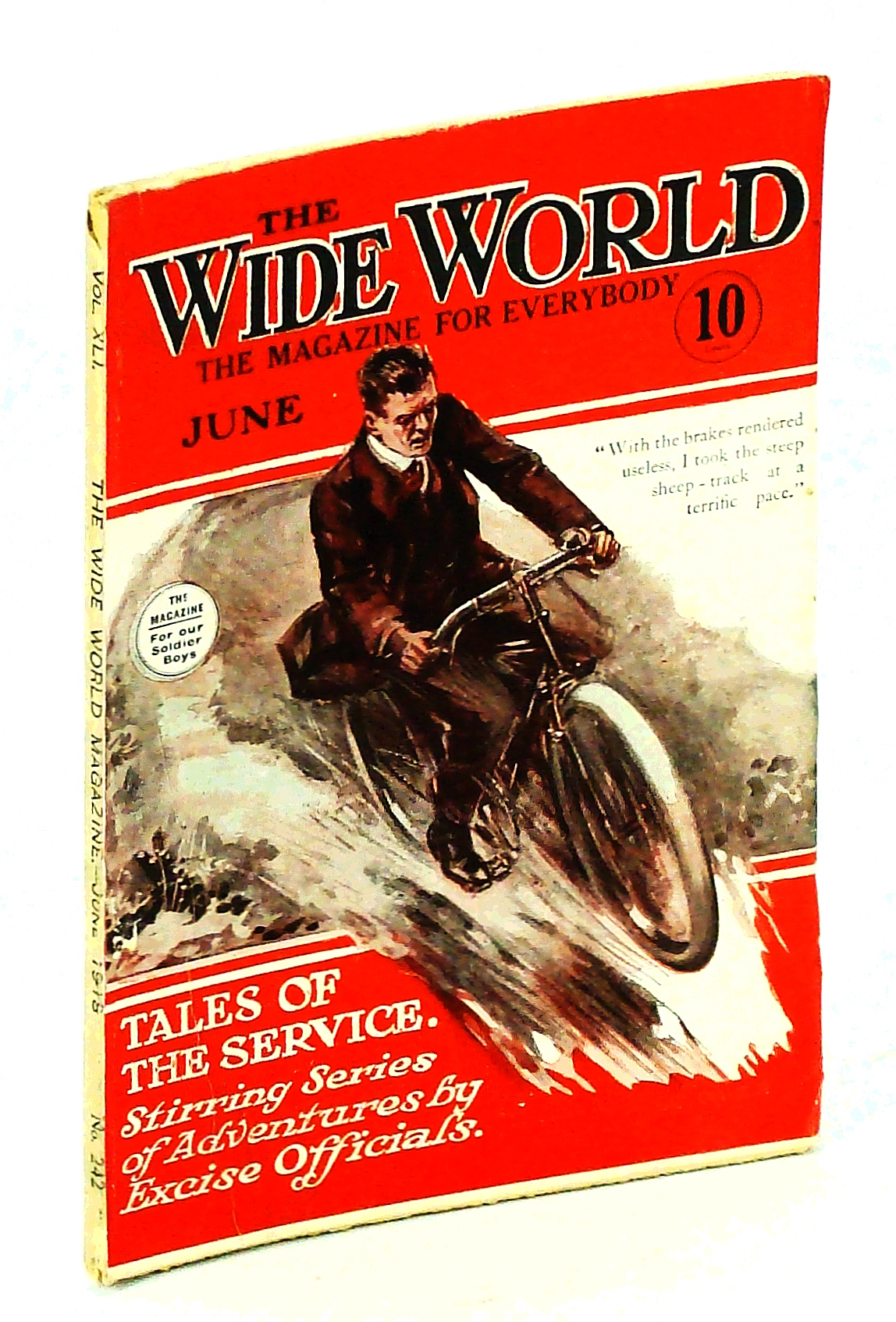 Image for The Wide World, The Magazine for Men, June 1918, Vol. 41, No. 242:: The Dalton Gang
