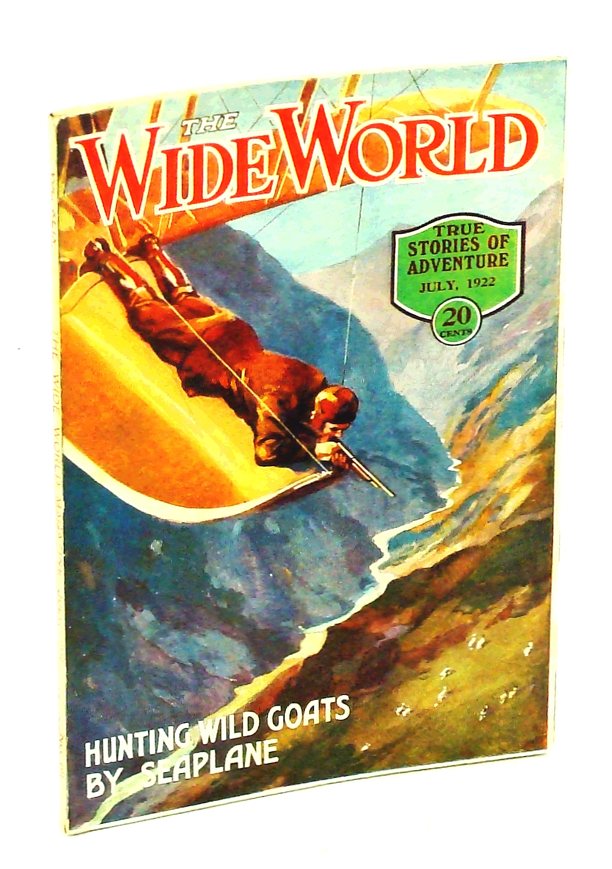 Image for The Wide World, True Stories of Adventure, July 1922, Vol. 49, No. 291: Across Remote Yunnan / The Wild Men of Borneo