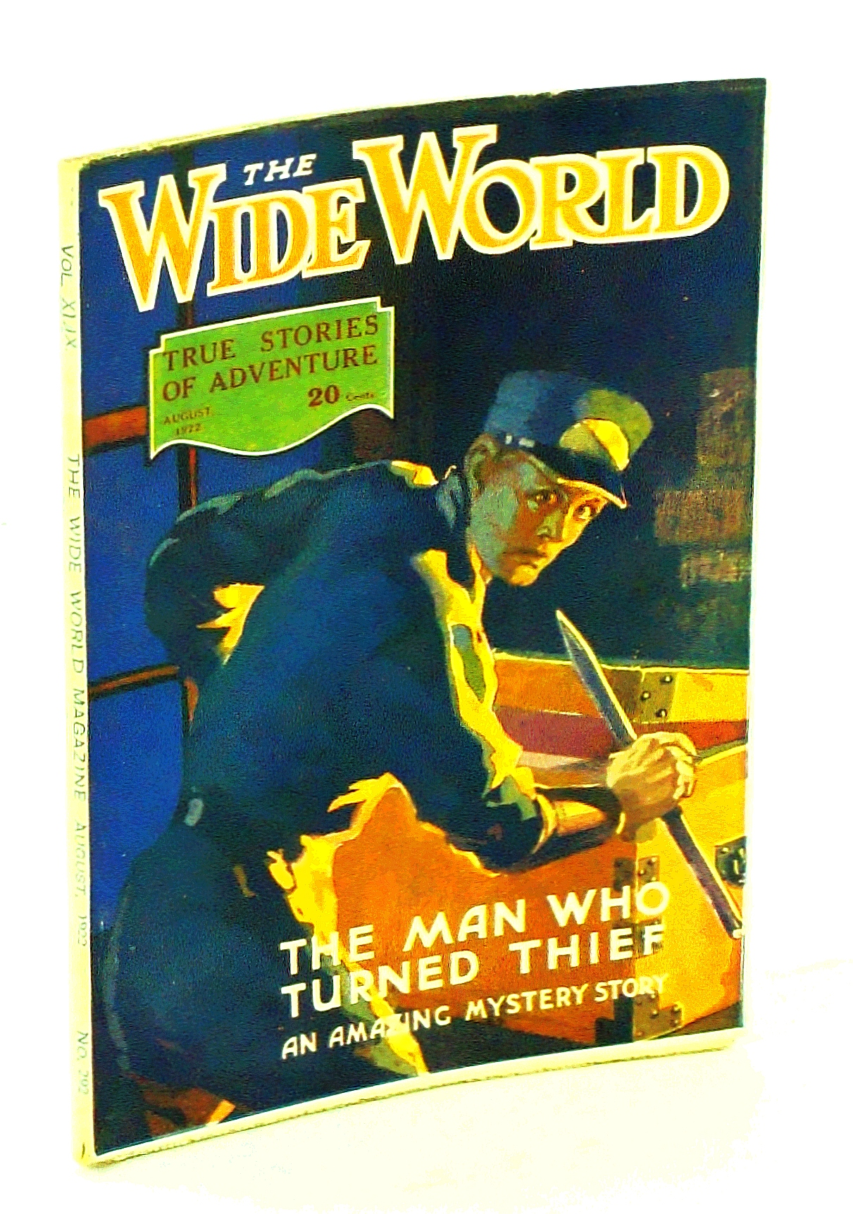 Image for The Wide World Magazine, True Stories of Adventure, August [Aug.] 1922, Vol. 49, No. 292: Through The East By Air / Big-Game Shooting in Northern India