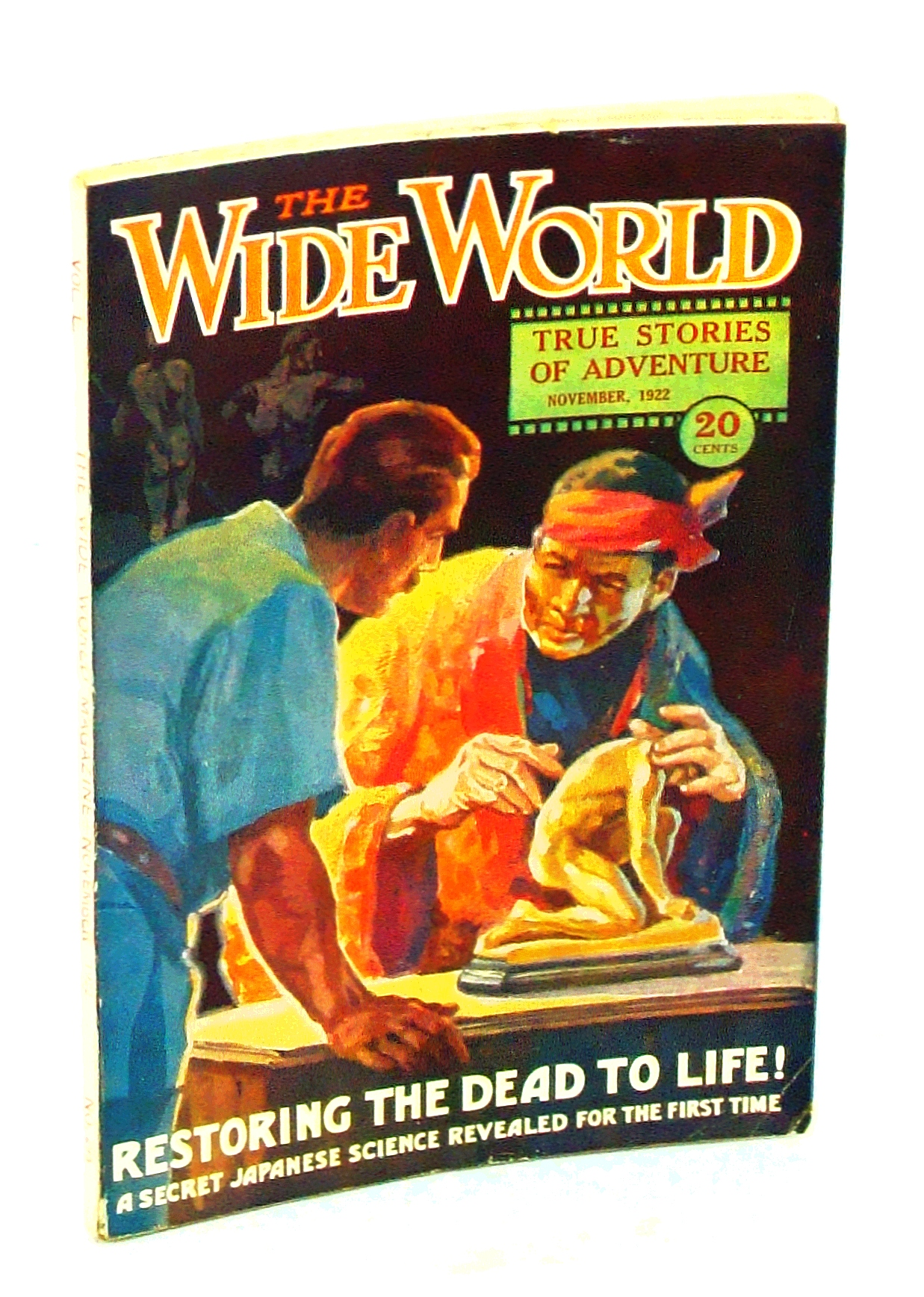 Image for The Wide World Magazine - True Stories of Adventure, November [Nov.] 1922, Vol. 50, No. 295: Restoring the Dead to Life! - A Secret Japanese Science Revealed